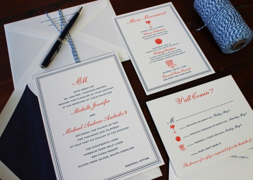 monogram-summer-letterpress-wedding-invitation