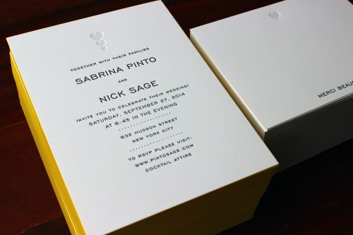 yellow-edgepaint-letterpress-wedding-invite