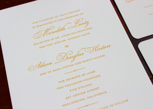 timeless-gold-bickham-script-letterpress-wedding-invitation