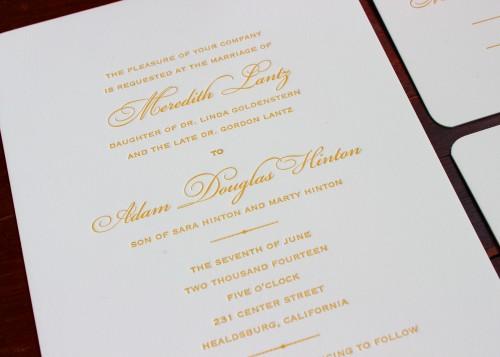 timeless-gold-bickham-script-letterpress-wedding-invitation