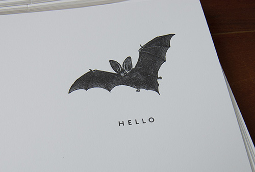 bat-letterpress-card-halloween