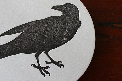 raven-letterpress-coaster