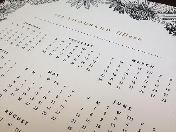 sesame-letterpress-calendar-2015-black-floral