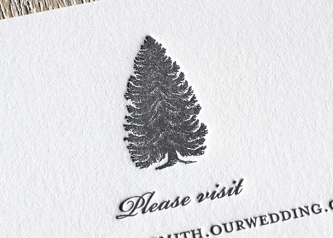 gray-pine-tree-rustic-winter-wedding-info-sesame-letterpress