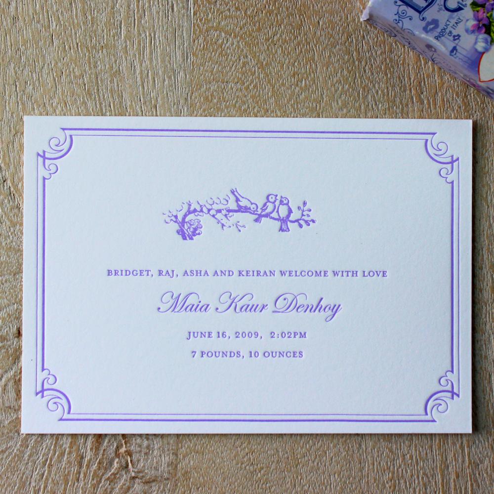 3-Purple-birds-on-branch-Letterpress-Baby-Announcement.jpg