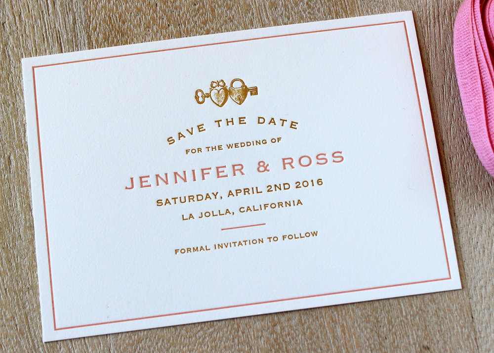 Rose-Gold-Heart-Locket-Letterpress-Save-Date