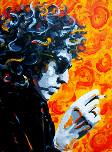 9.25.12  > Mystical Child > 18x24 inch Acrylic Painting on canvas > CLICK IMAGE TO PURCHASE