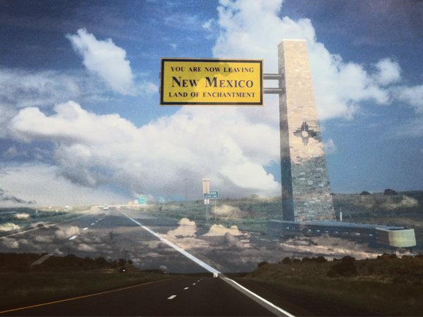 8.25.12 > New Mexico. Enchanted Mildly. Then We Left. > Viaje De Amor II > Graphic Design > Photo by BS > CLICK IMAGE TO PURCHASE