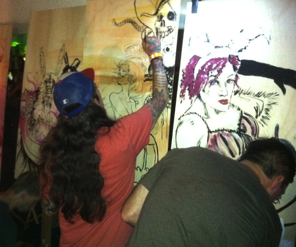 7.10.12  > Collab Continues > Photo > Comic Con Warehouse After Party. San Diego, CA. 7.13.12 > NOT AVAILABLE FOR PURCHASE