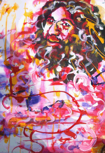 4.25.11 > Invitationist > 18x24 inch Acrylic Painting on canvas. Live Painted Wanee 2011. > NOT AVAILABLE FOR PURCHASE