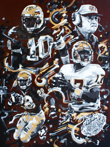 6.25.15  > 1993 > 36x48 inch Acrylic Painting on canvas > CLICK IMAGE TO PURCHASE