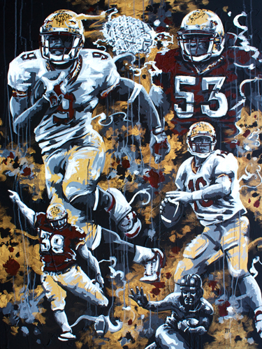 6.26.15  > 1999 > 36x48 inch Acrylic Painting on canvas > CLICK IMAGE TO PURCHASE