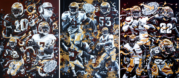 6.27.15  > Seminole > 36x48 inch Acrylic Painting Series on canvas > CLICK IMAGE TO PURCHASE