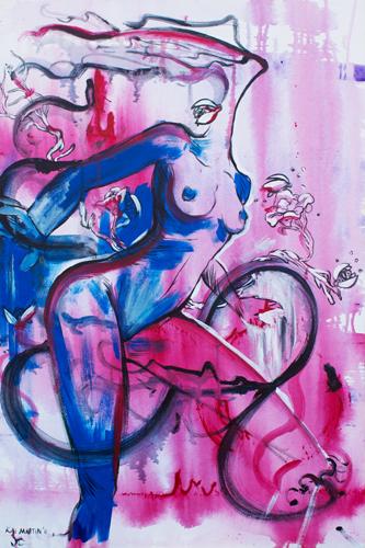 Le Femelle Monde I > 24x36 inch on canvas