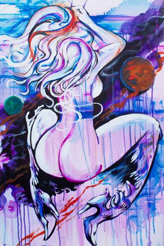 Le Femelle Monde IV > 24x36 inch on canvas