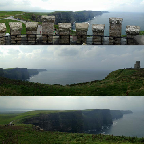 9.9.15  > Atop The Castle > Photo > Cliffs Of Moher > Giraffe Necks > NOT AVAILABLE FOR PURCHASE