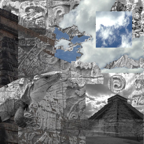 2.1.17 > One Circle > Graphic Design > Chichen Itza, Mexico. > NOT AVAILABLE FOR PURCHASE