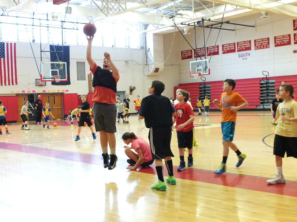 Basketball Raider Play Off Camp