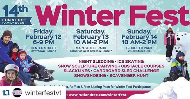 Follow @winterfestvt for all the details on  this years winter fest!! #WinterFestVT  #Repost @winterfestvt with @repostapp. ・・・ Join us for the 14th annual Winter Fest! Follow us for all the details and behind the scenes on what we do to get this awesome FREE family fun event ready also use the hashtag #WinterFestVT maybe you will be a featured post on any of our social media!! #WinterFestVT