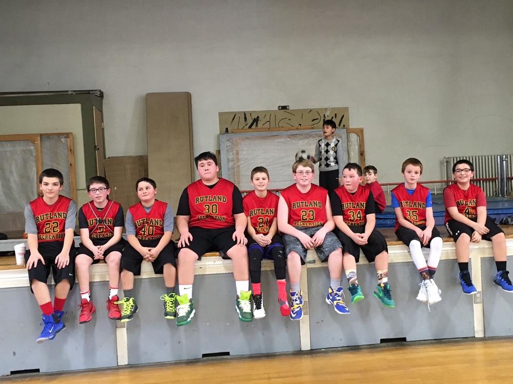 5/6 Grade Boys in new jerseys! 2015