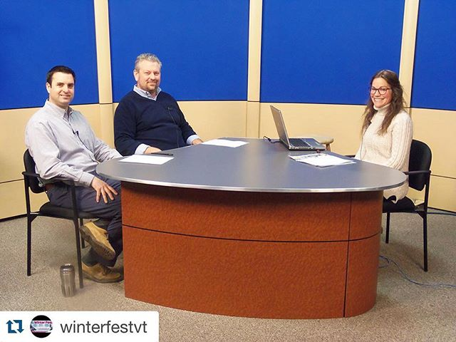 Follow @winterfestvt for all the behind the scenes on #WinterFestVT #Repost @winterfestvt with @repostapp. ・・・ As we welcome February (and the countdown to #WinterFestVT begins), check out the Rutland Rec Show on PegTV and learn about all things Winter Fest! As program director/winter fest planner April Cioffi sits down with Russ Marsan from come alive outside, and Mike Coppinger from Rutland Downtown Partnership and talks all things Winter Fest. link in bio! Check it out!  #rutlandrec #rutvt #rutlandvermont #WinterFestVT