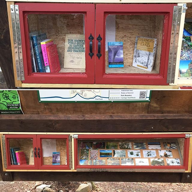 Check out the beautiful new display case and books #pinehillpark Thank you to Thomas Estill for the photos! #rutvt #rutlandvt
