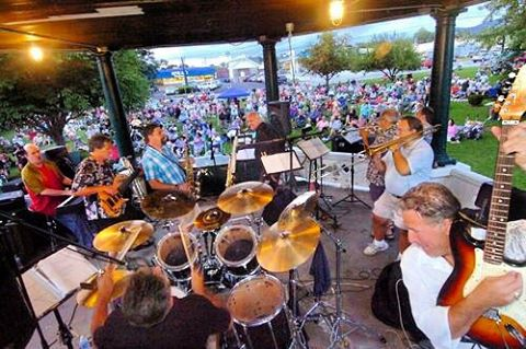 This weeks Wednesday night concert in the park is Satin & Steel. Don't miss them at 7PM at Main Street park! #rutlandrecsummer #rutvt #rutlandvt #summerconcertsinthepark