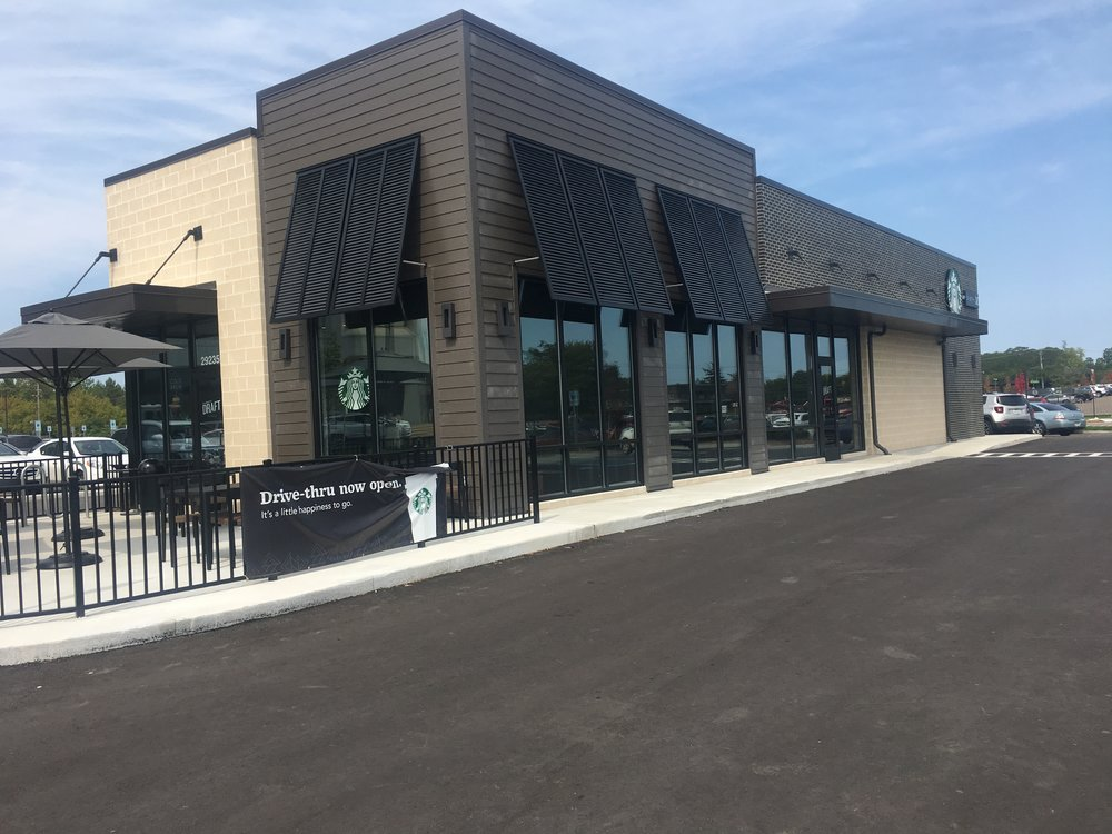 Starbucks T-12 - Location:Southfield, MISquare Footage: 2,200