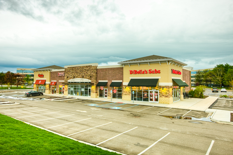 Bingham Center - Location: Bingham Farms, MISquare Footage: 7,800Key Tenants: Qdoba, DiBella's, Biggby