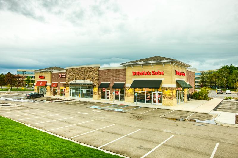Bingham Center - Location: Bingham Farms, MISquare Footage: 7,800Key Tenants:Qdoba, DiBella's, Biggby
