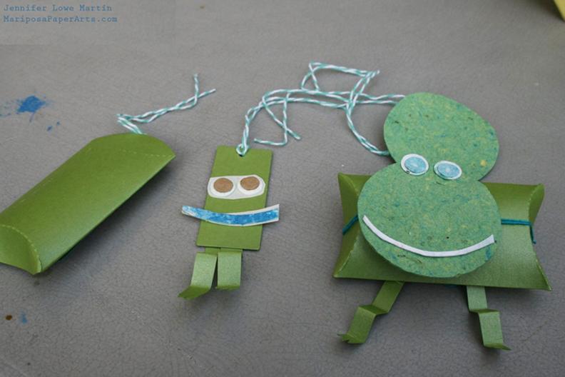 Sticker Craft Frog Kit