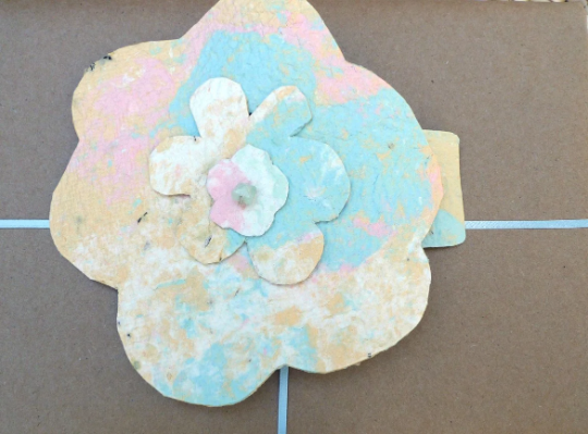 Monet Inspired Plantable Paper Flowers