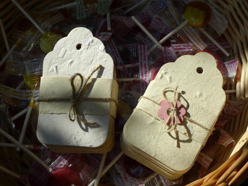 Plantable Paper Tags