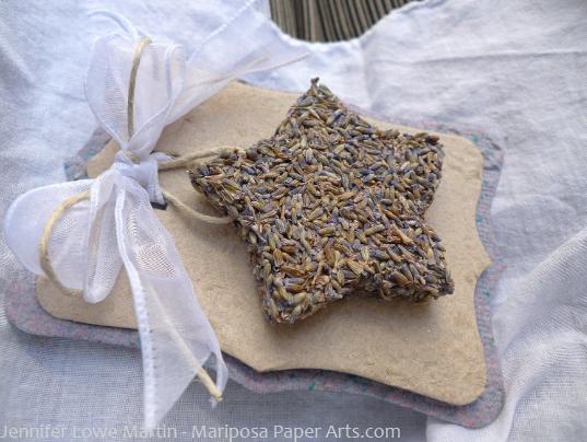 Fragrant Lavender Star Favor