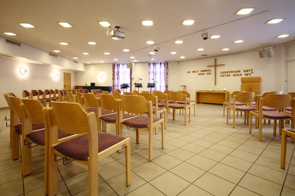 Gottesdienst-Saal