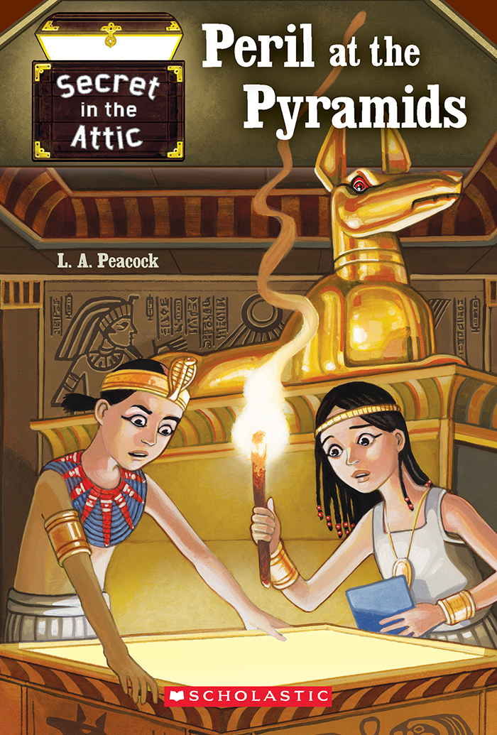 Secret in the Attic: Peril at the Pyramids