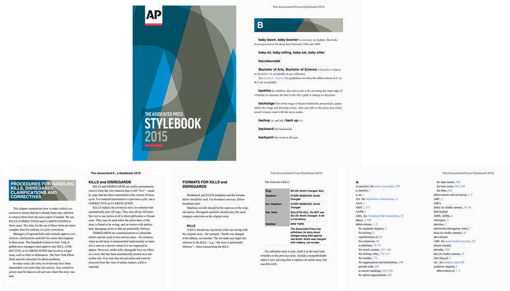 Featured projects bngo books the associated press style book 2015 2016 fandeluxe Image collections
