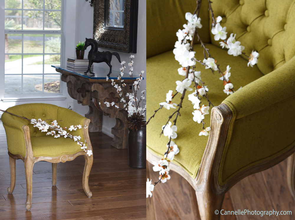 Interior photography - The green chair