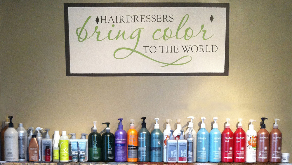 We use and sell Redken products