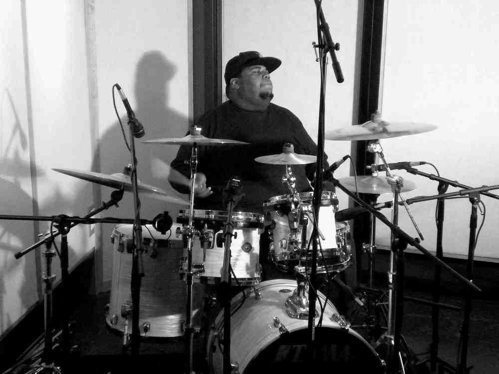 Kris Brooks at Tanona Studios - Front1 - B&W.jpg