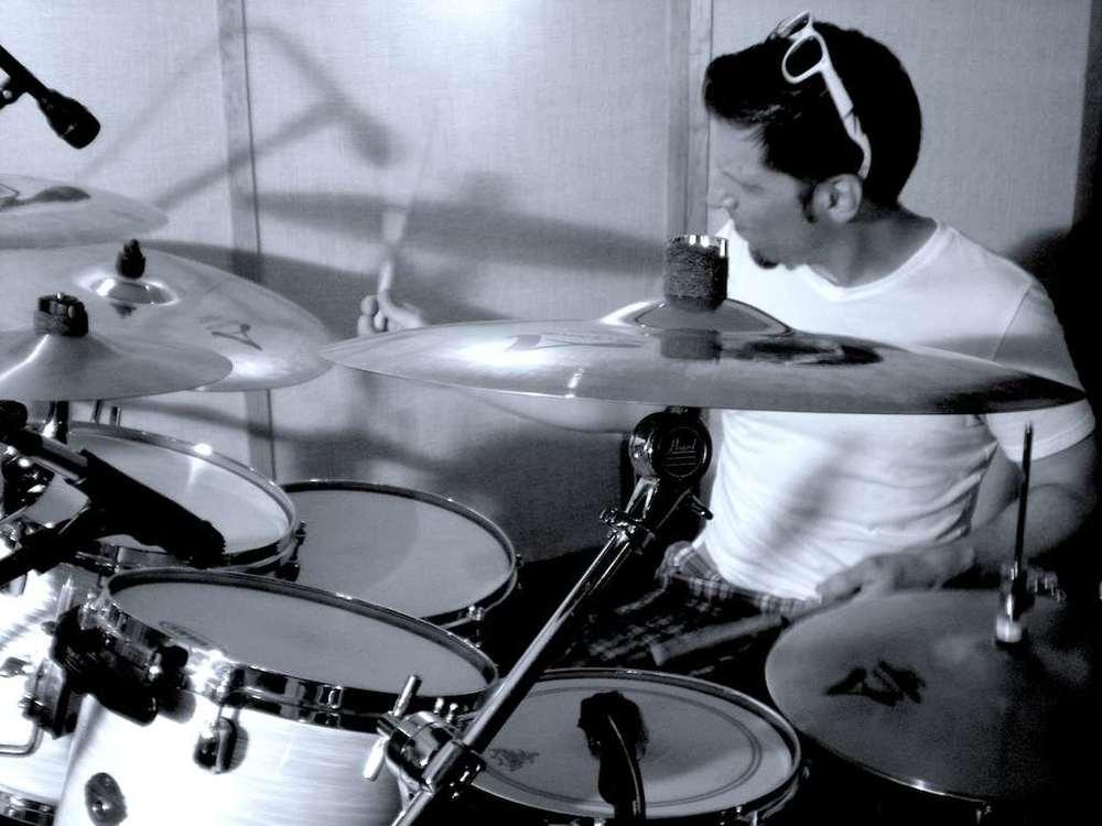 Jerome Day at Tanona Studios - Side Wide - B&W.jpg