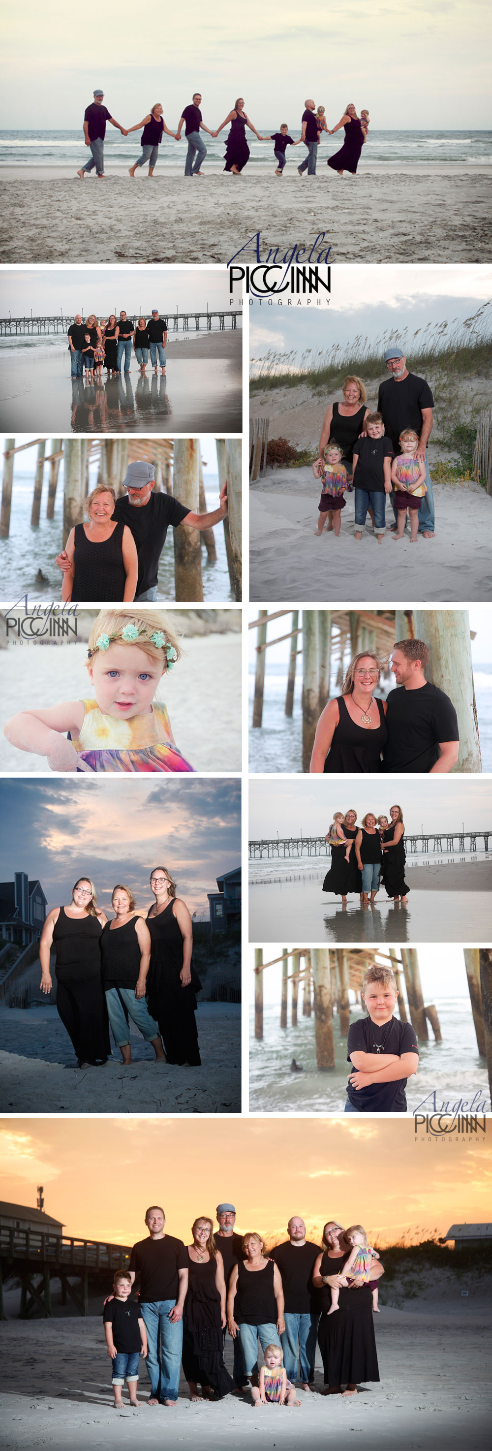 Surf City Family Portraits by Angela Piccinin