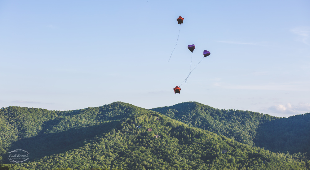 blue ridge parkway balloons