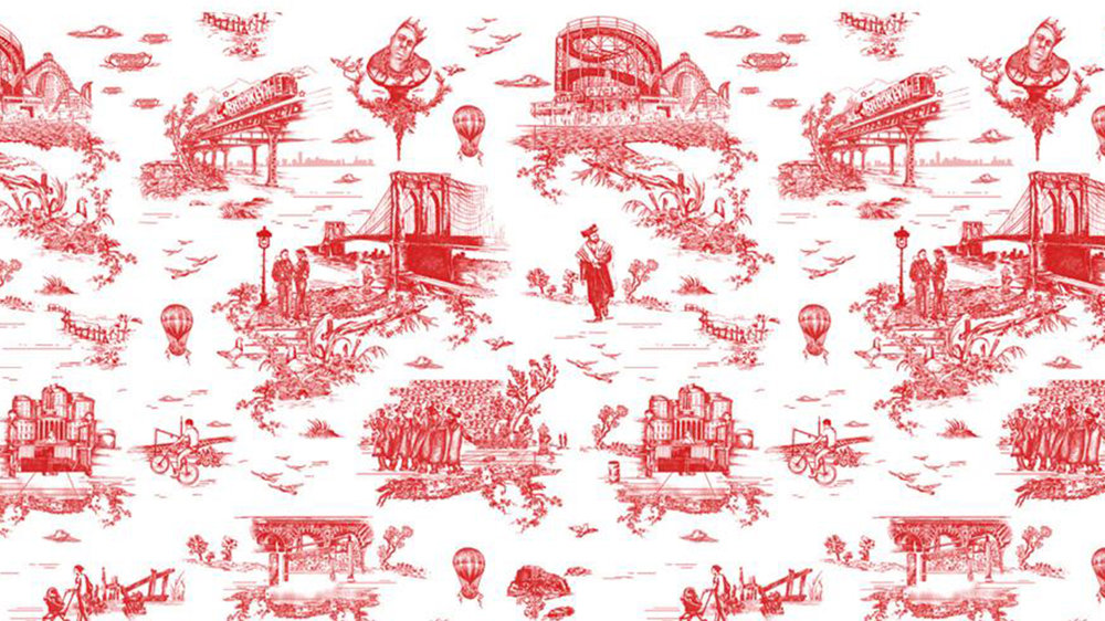Brooklyn Toile [lifestyle/wellness]