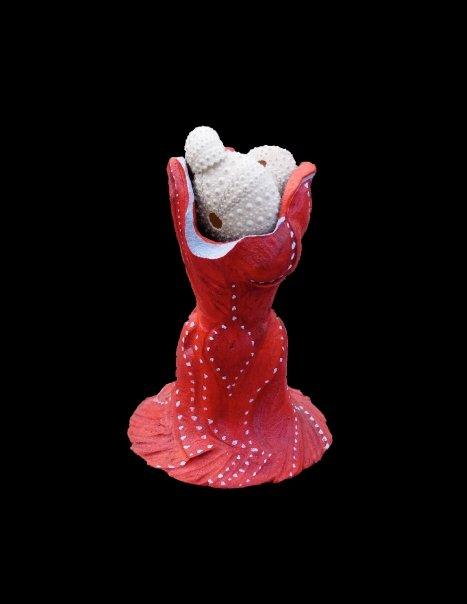 Urchin (Clay, Natural Materials)