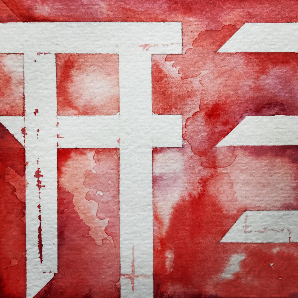"KATA (Watercolor, 6""x6"")"