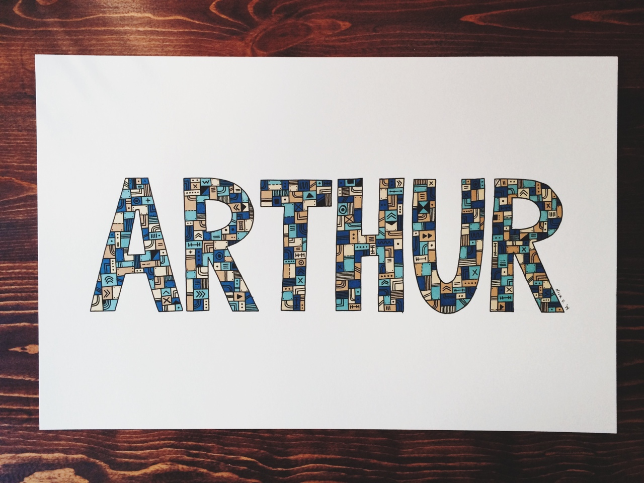 ARTHUR | 11x17    recently finished up a commission piece. not too shabby. pretty happy with how it turned out.