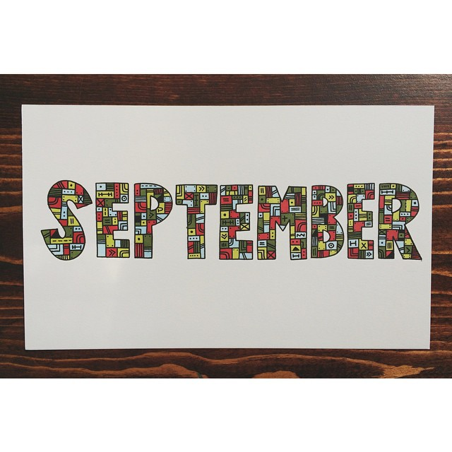 September is over, and now I'm even older… awesome.