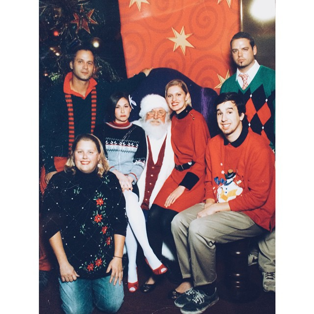 They were simple times #tbt (2007 ignite Christmas photo) (at Turtle's Lair)