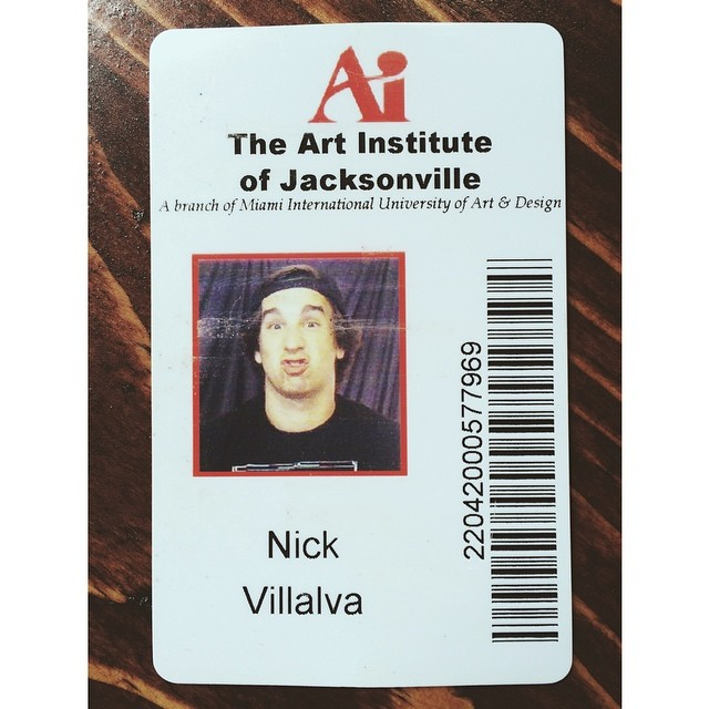 Found my student ID from college while going through some boxes. I believe this was from around 2007. #schooldaze #nostalgic (at Turtle's Lair)